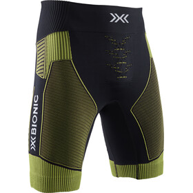 X-Bionic Effektor G2 Hardloop Shorts Heren, black/acid green